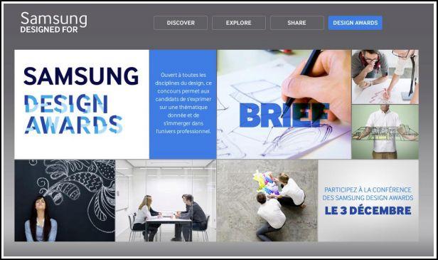 samsung design awards