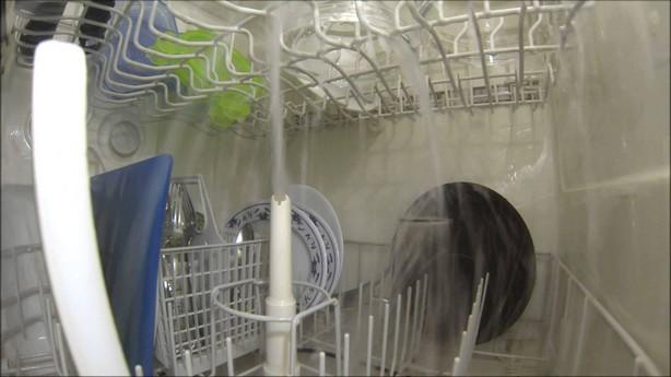 camera gopro dans un lave-vaisselle