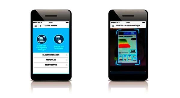 efficacité énergétique applis mobile