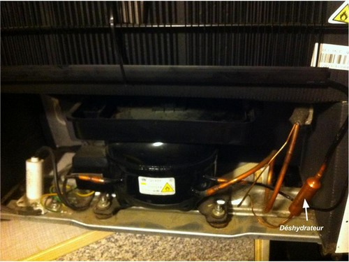 déshydrateur refrigerateur